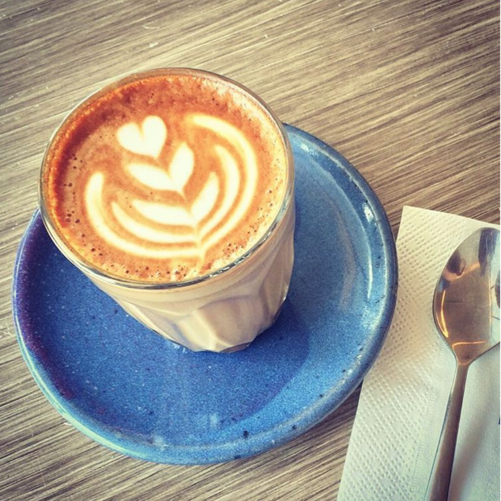 The Blue Flame Coffee  (Courtesy  Instagram )