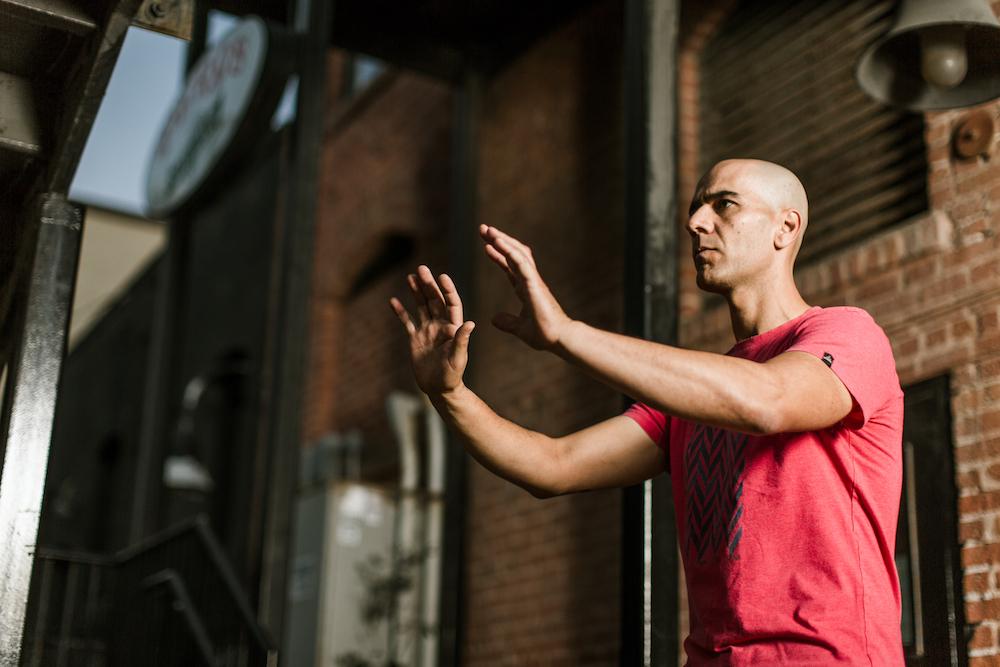 Amir Zaki, HB Yoga Collective Teacher //Photo by Carrie Cowen Photography