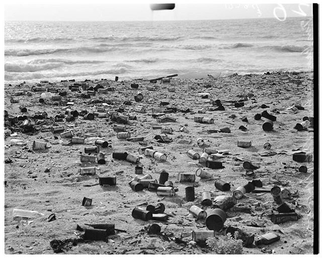 "#ThrowbackThursday to ""Tin Can Beach,"" aka Bolsa Chica State Beach, in 1957. No nostalgia here, folks. More #history on the blog 👉🏾 mainandpch.com (link in bio) . . . . #tbt #huntingtonbeach #tincanbeach #bolsachicastatebeach #bolsachica #vintage #classic #oldschool #oc #orangecounty #socal #southerncalifornia #chrisepting @chrisepting"