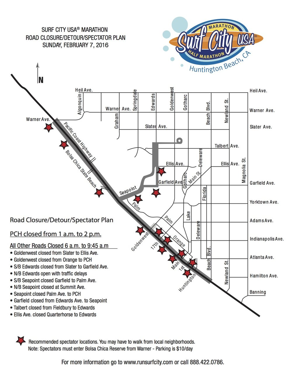 Via  Surf City USA Marathon