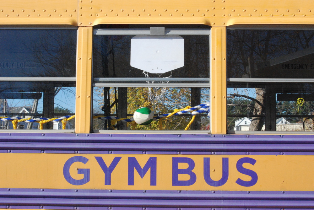 Yay, Gym Bus!