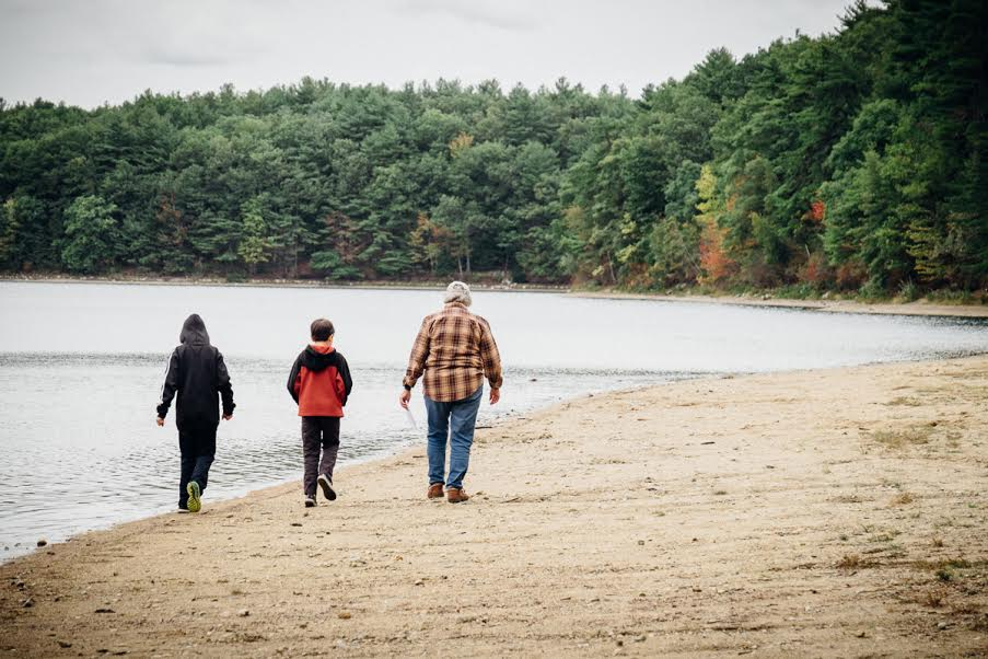 Walden Pond Walk. Photo courtesy of Rob DePaolo.