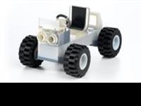 Objet 3D Printed LEGO car