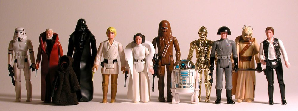 Star Wars figure assortment