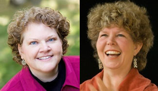 Peggy Brown and Leslie Scott