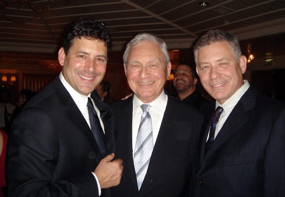 David, Len and Bob Fuhrer