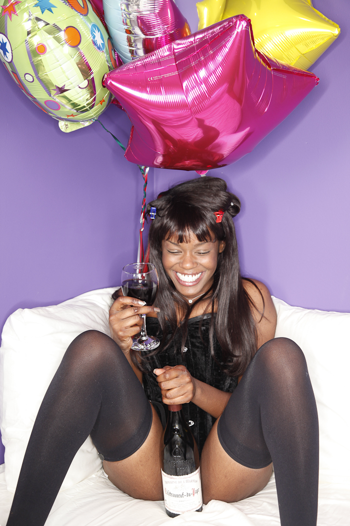 Azealia at home, Harlem 2010