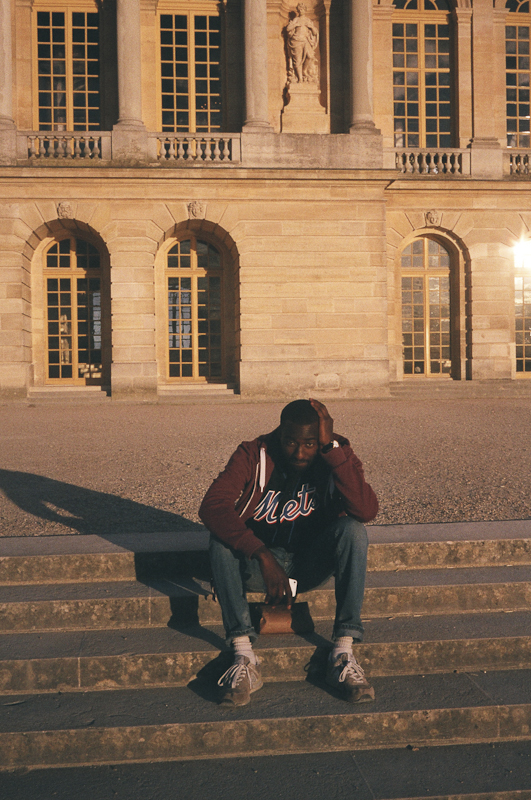 Franco at Palace of Versailles, France 2013