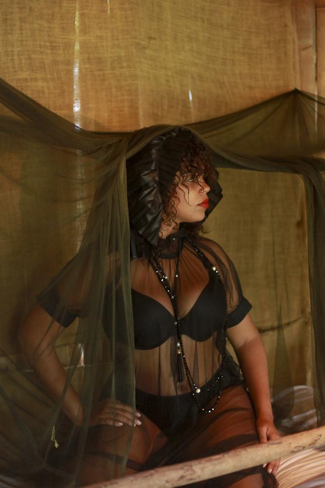 Keida in Madam Virtue & Co, Alpha 60 and Tiffany & Co.