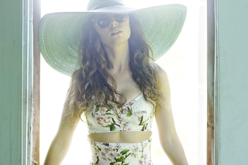 Freya in Dolce & Gabbana, Raen and vintage