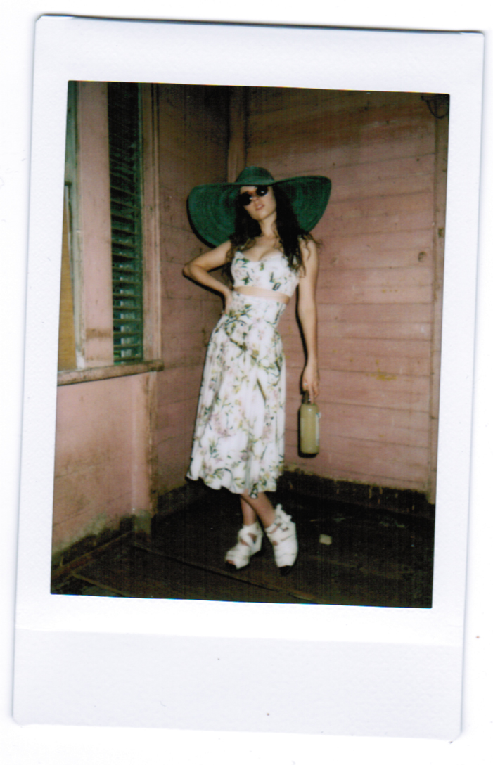 Freya in Dolce & Gabbana, Raen, Catbird, Acne Studios and vintage