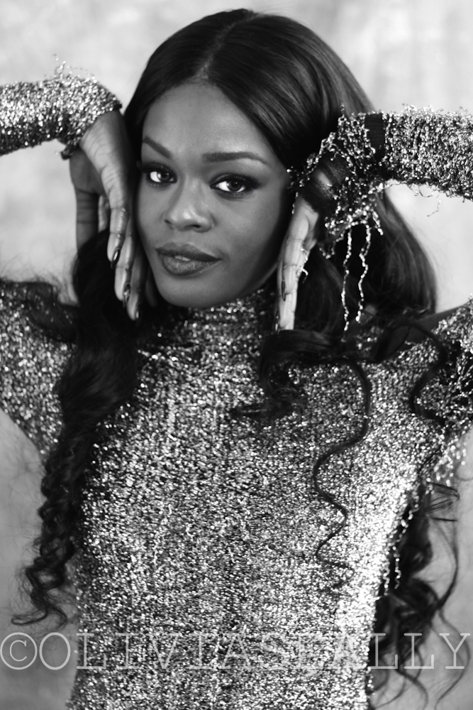 unreleased // Azealia Banks photographed by Olivia Seally, styled by Savannah Baker, make-up by Christine Hohl. NYC 2014