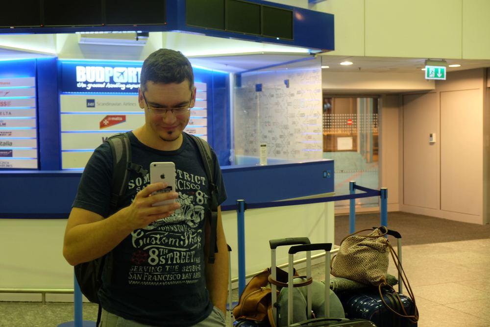 Budapest Airport - 4 am
