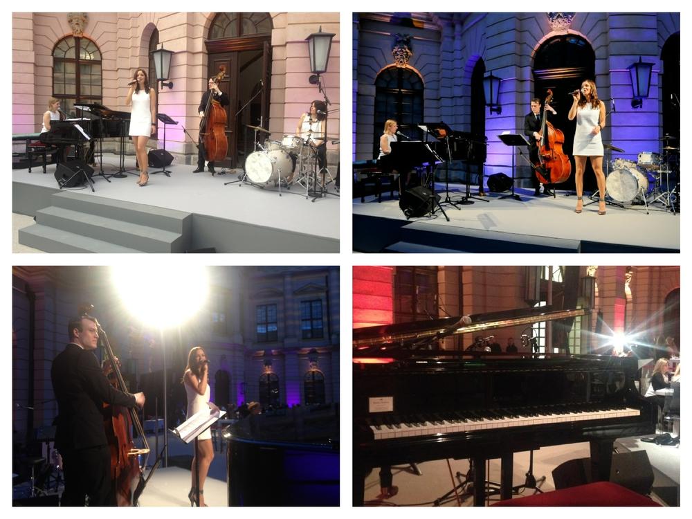 Die Jazzband Fourluxe im Deutschen Historischen Museum