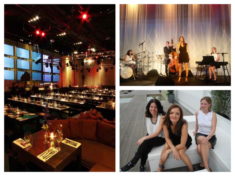 Iza Höll mit der Jazz Band Fourluxe im Spindler und Klatt