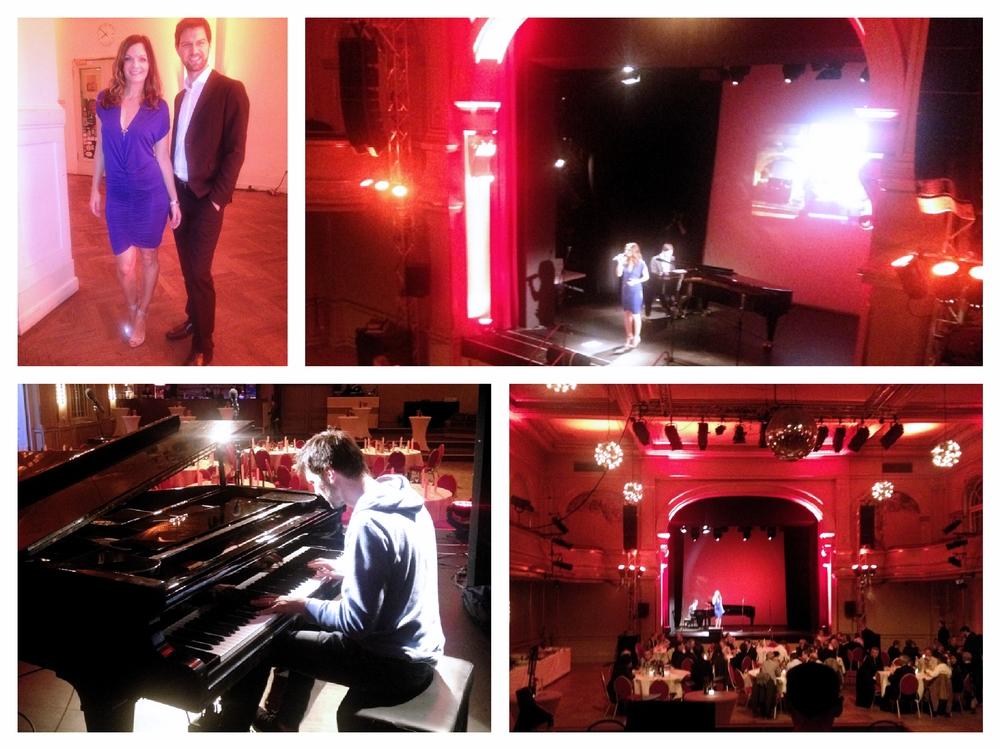 Iza Höll mit dem Berliner Jazz / Lounge Duo Sunset Orange im Heimathafen
