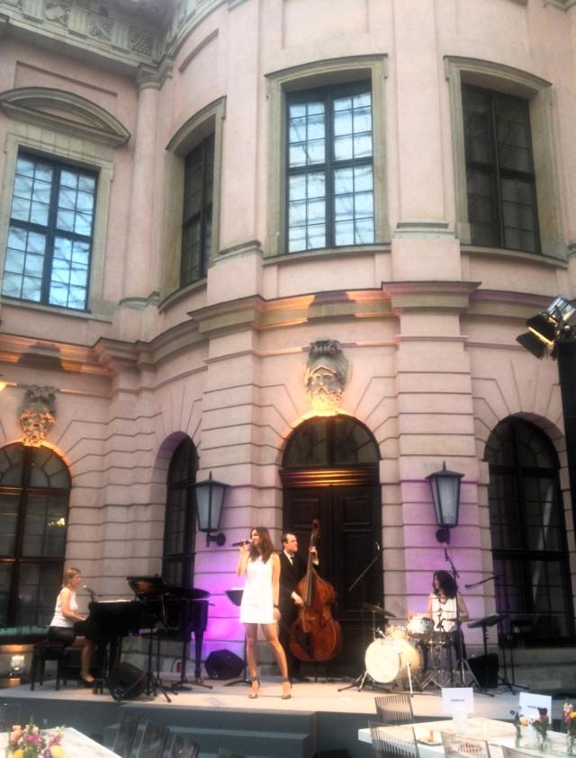 Das Jazz-Quartett Fourluxe im Deutschen Historischen Museum in Berlin