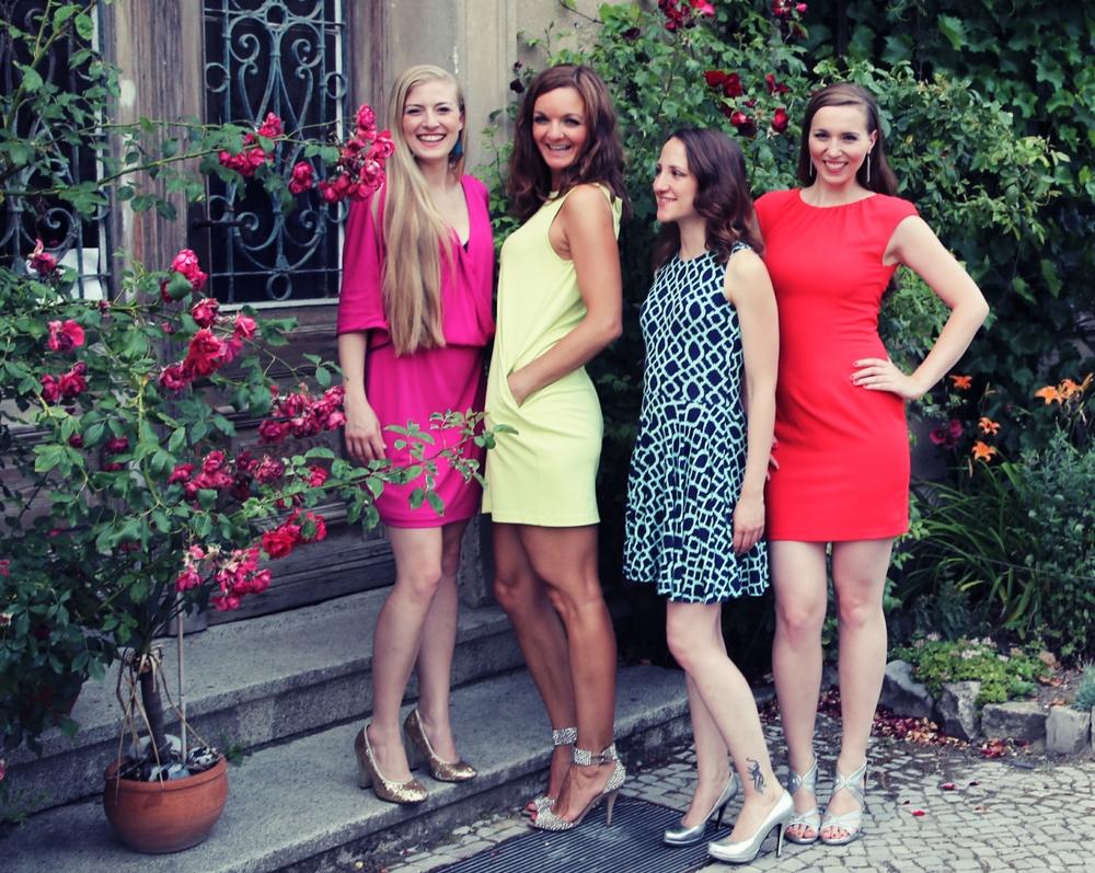 Die Frauenband Sunset Orange aus Berlin im Schloss Bessenstedt