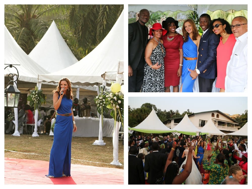 Hochzeitsfeier in Yaoundé, Kamerun