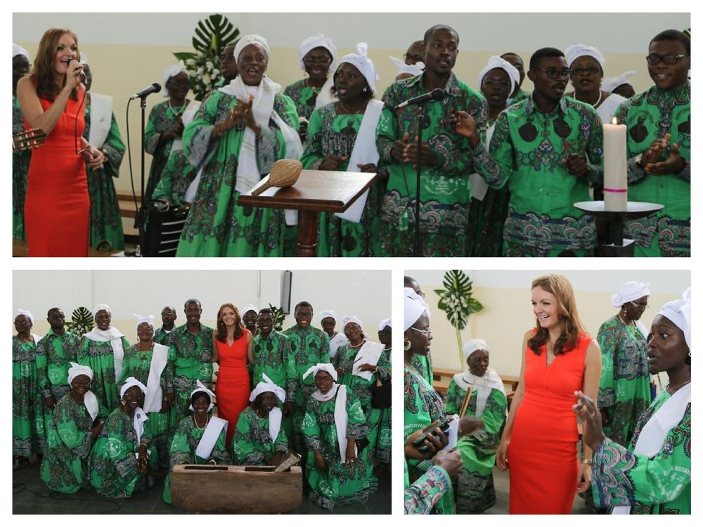 Saint Paul Chor im Mont Febe Kloster in Yaoundé, Kamerun