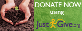 Contribute online through the secure non-profit network JustGive!