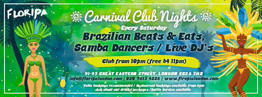 Facebook Cover Photo - Carnival Club Nights