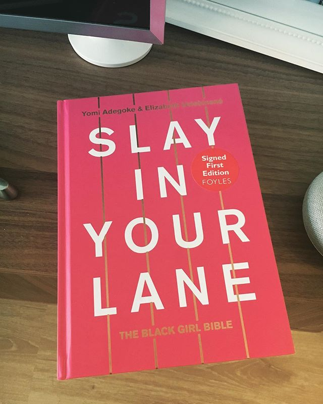 The guide to black girl magic 🙅🏾‍♀️✊🏾🌟 . . Slay in your Lane - The Black Girl Bible . . #slayinyourlane #theblackgirlbible #blackgirlmagic #makelemonadeoutoflemons #findingsuccess #health #education #representation #dating #blackauthors