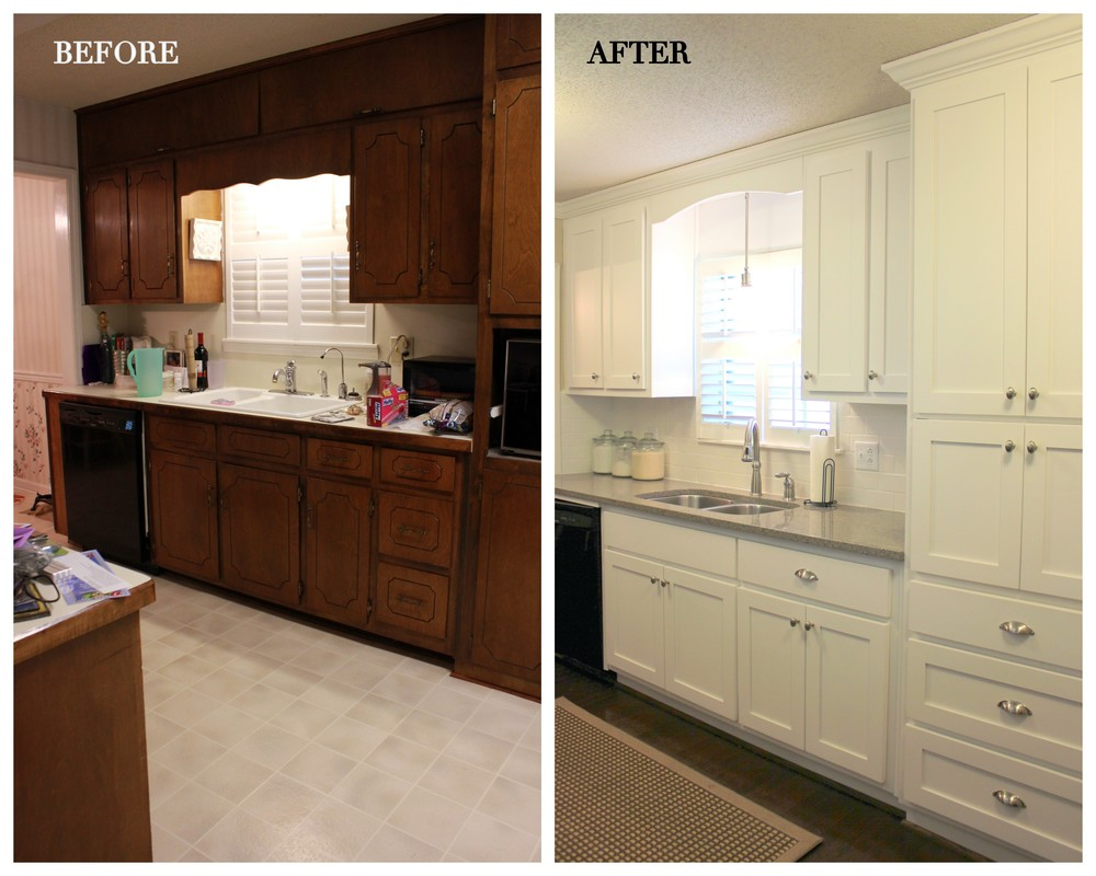 Kitchen before and after 3a design studio for Updated kitchen remodels