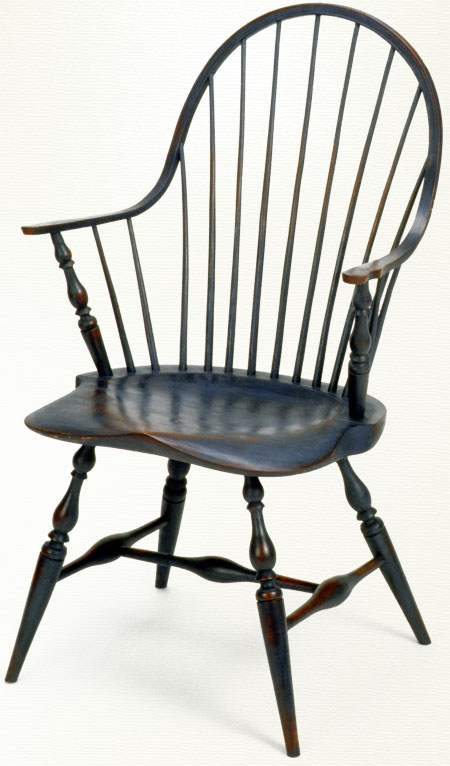 The Windsor Chair. One of the only chairs from my list not from the 20th Century. It's a classic. I've seen little versions of this chair too.