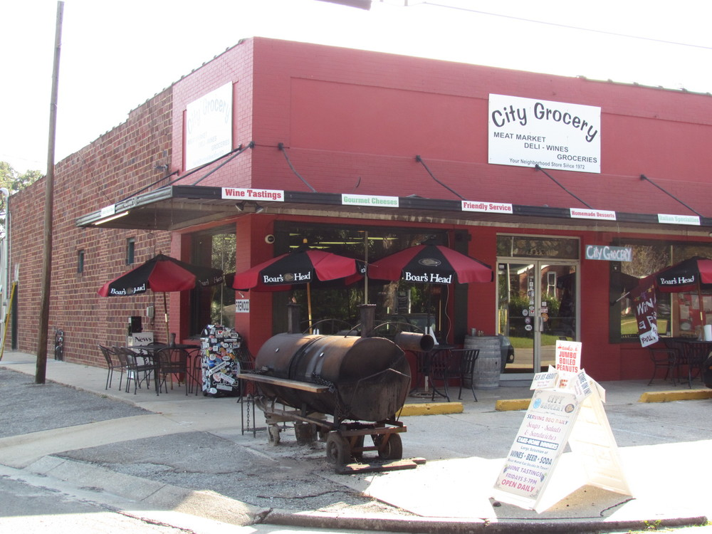 City Grocery- some of the best sandwiches in town