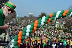 McGuire's Run, bringing in approximately 10,000 runners, is one of the biggest parties in town.