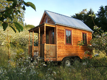 Image via the the Tumbleweed Tiny House Tour on the  Tiny House Blog