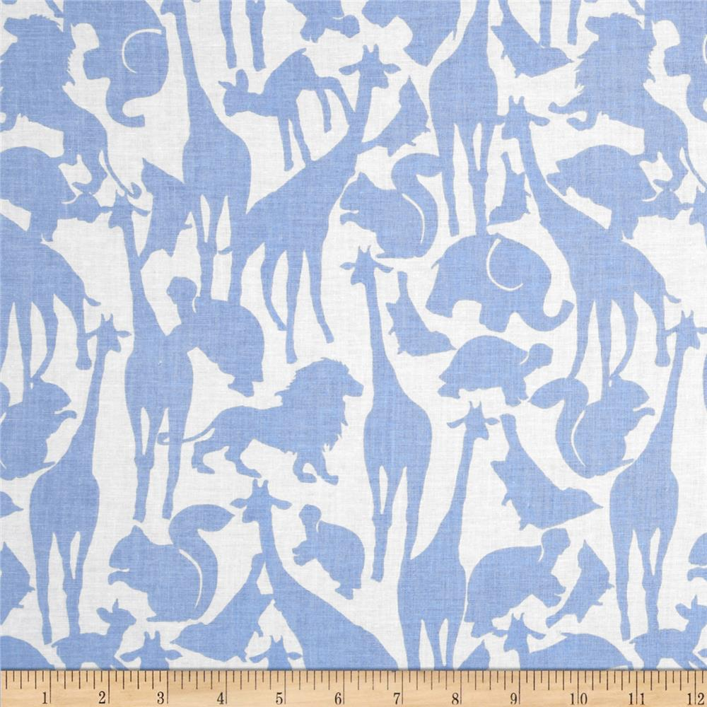 Cynthia Rowley, Oh Baby Animal Silhouettes in Blue