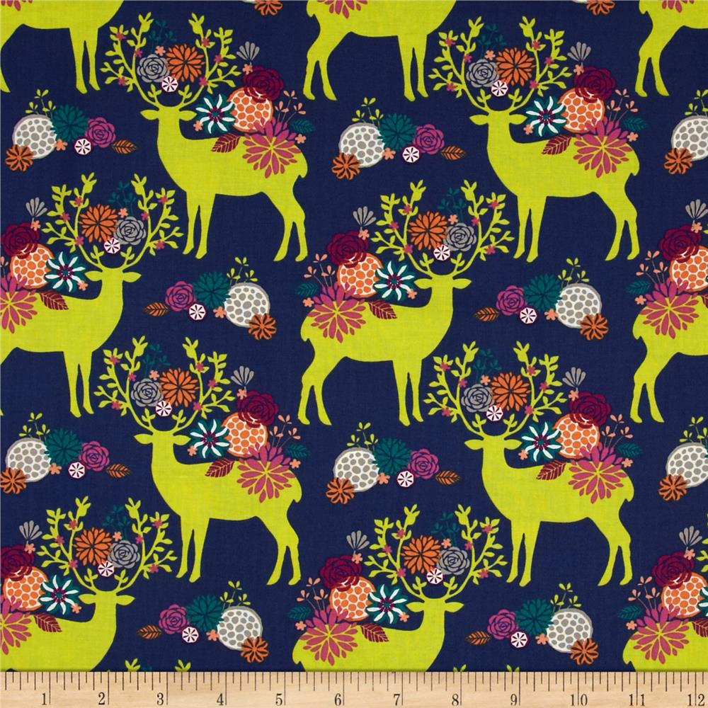 Rustique, Yes Deer in Navy