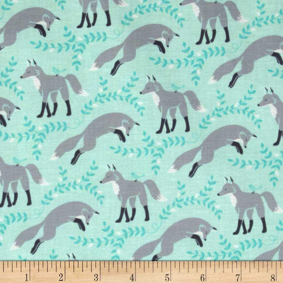 Les Amis, Sox the Fox in Aqua
