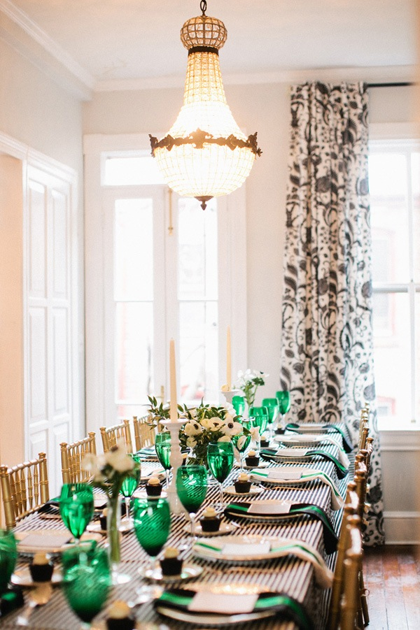 Beautiful and elegant table setting
