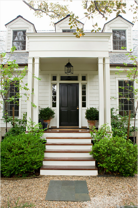 I even love it for exteriors (notice the wood steps and porch)!