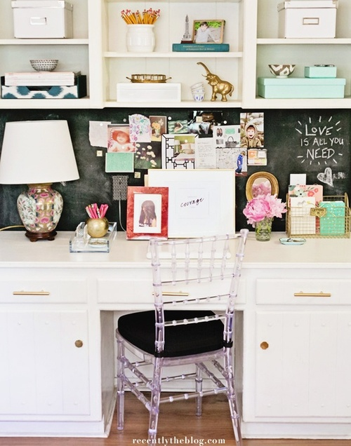 Magnetic chalk paint is a great option as well!