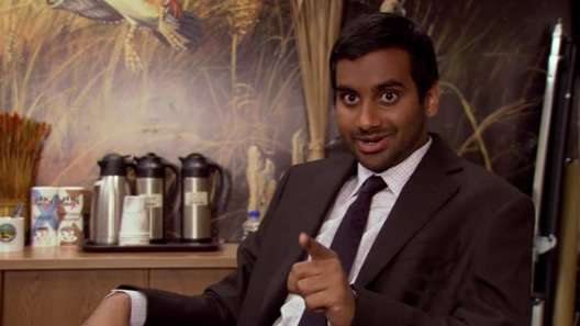 "My husband has been working a lot lately. And therefore I've been watching a lot of Parks and Rec. Hats off to Tom Haverford for giving mankind the word ""Dunzo."""