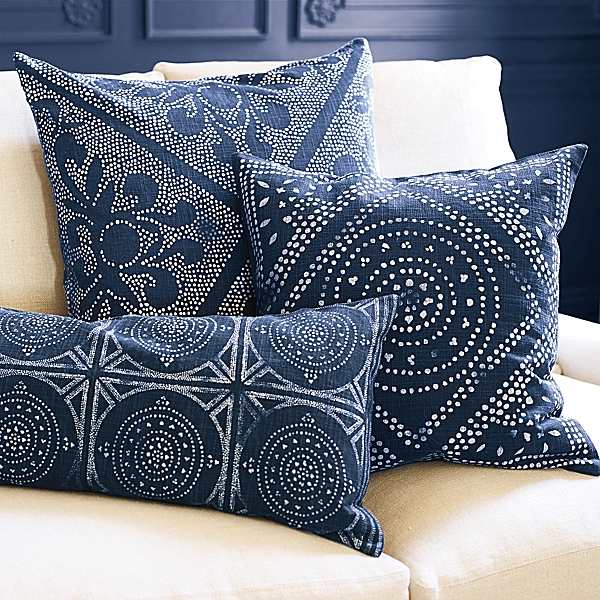 Serena and Lily's  Camile Scroll pillows