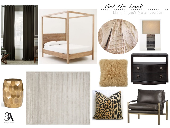 get the look ellen pompeo master bedroom