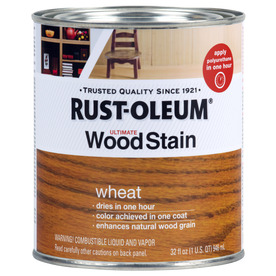rustoleum wheat wood stain