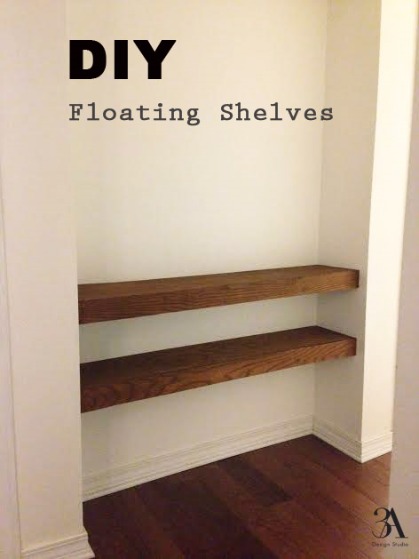 Diy Floating Shelves 3a Design Studio