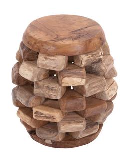 teak stool all modern