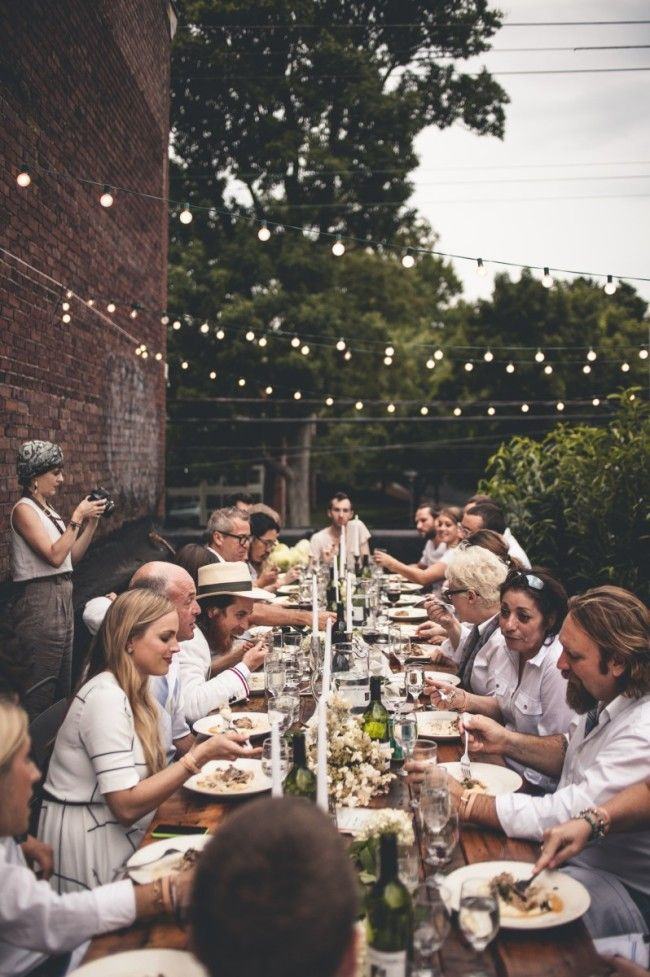 Outdoor Dinner Party 3a Design Studio