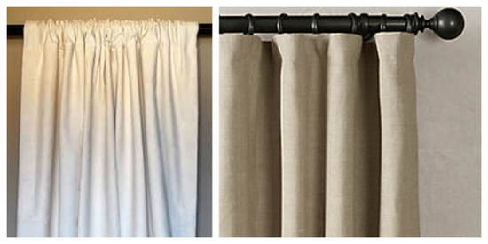 Curtain pocket vs. curtain rings