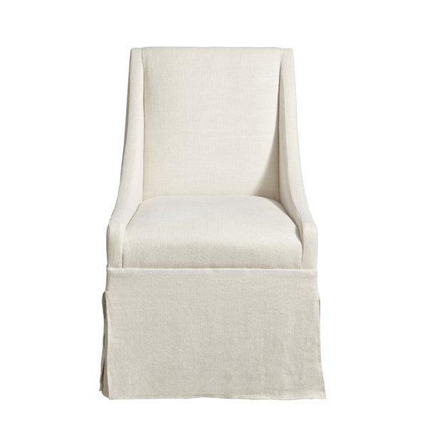 Linen end chair
