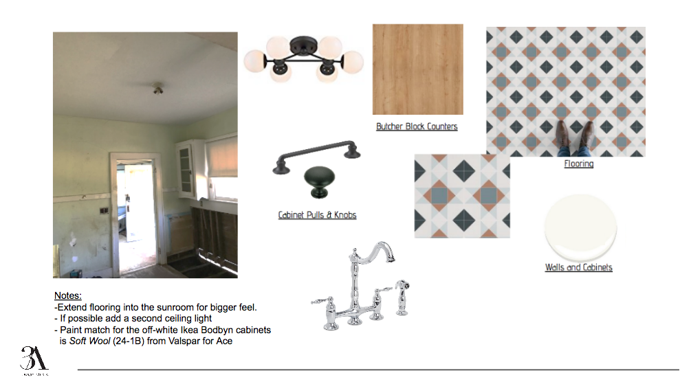 investment property kitchen redesign