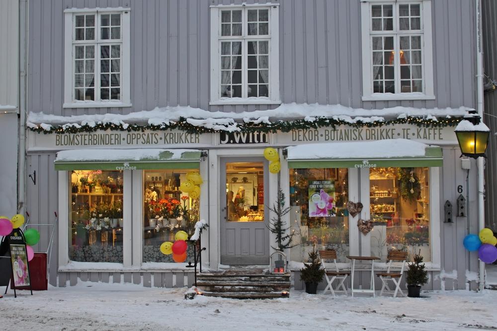 Bursdagsfest i Torvgata 6