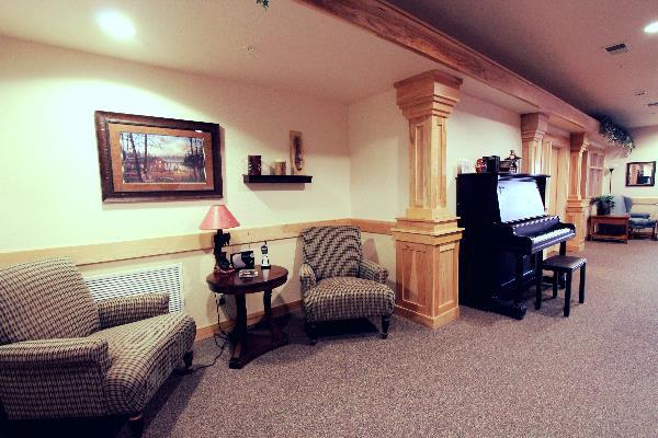 Brand new memory care area at Blaine White Pine Senior Living in Blaine, MN